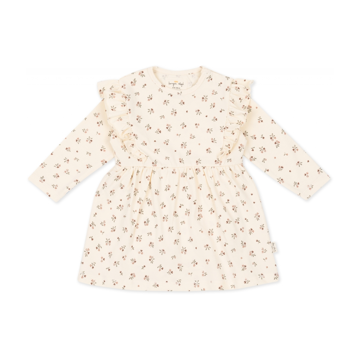 Konges Slojd - Hygsoft Dress Petit Amour Rose - 1