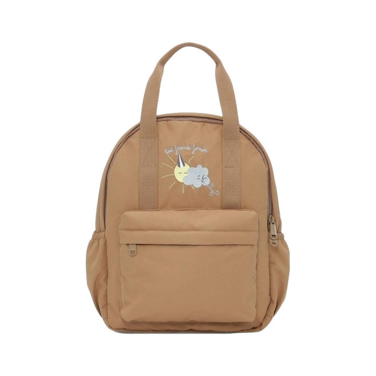 Konges Slojd Loma Kids Backpack Almond Brown