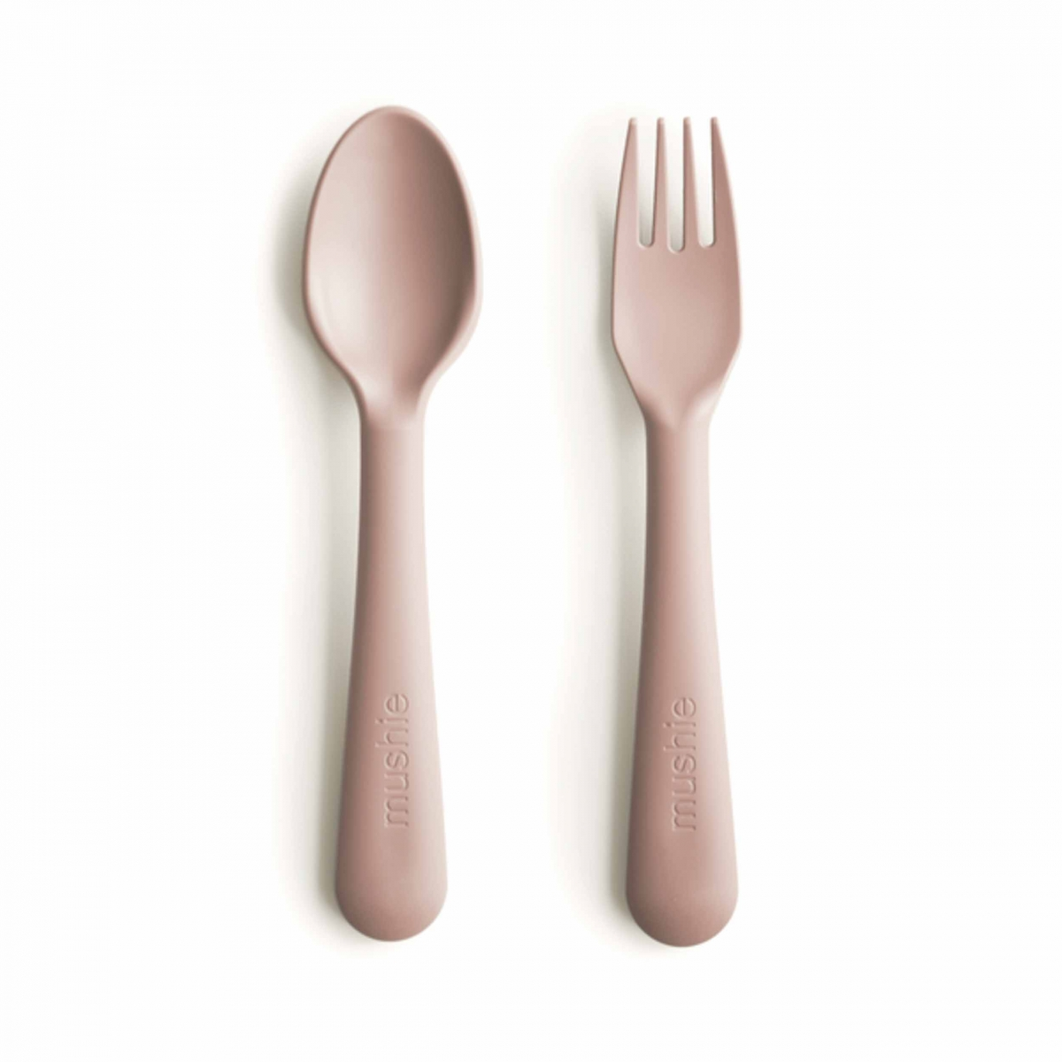 Mushie - Set of cutlery for self learning pink - 1