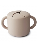 Snack cup beige