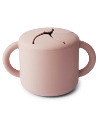Mushie - Snack cup pink - 1