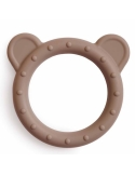 Silicone teether Bear beige