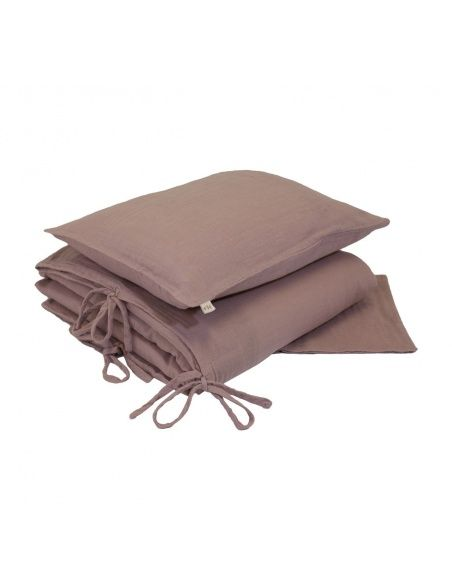 Numero 74 - Duvet Cover Set dusty pink - 1