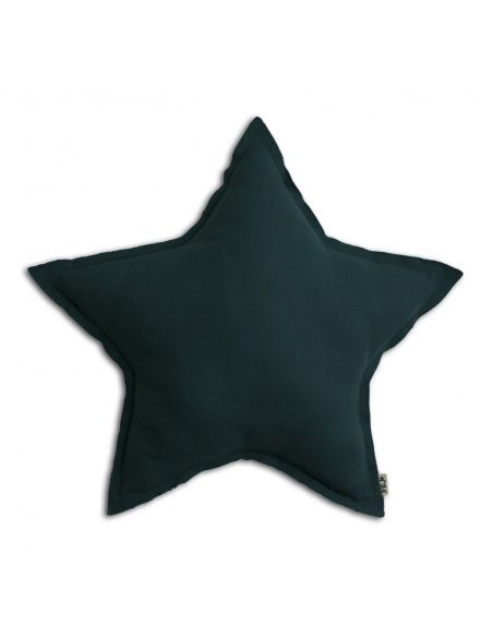 Numero 74 - Star cushion teal blue - 1